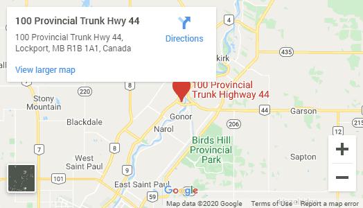 Skinner's Hwy 44 location map